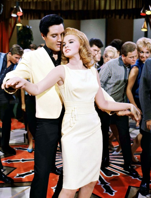 Elvis Presley and Ann-Margret in Viva Las Vegas, 1964
