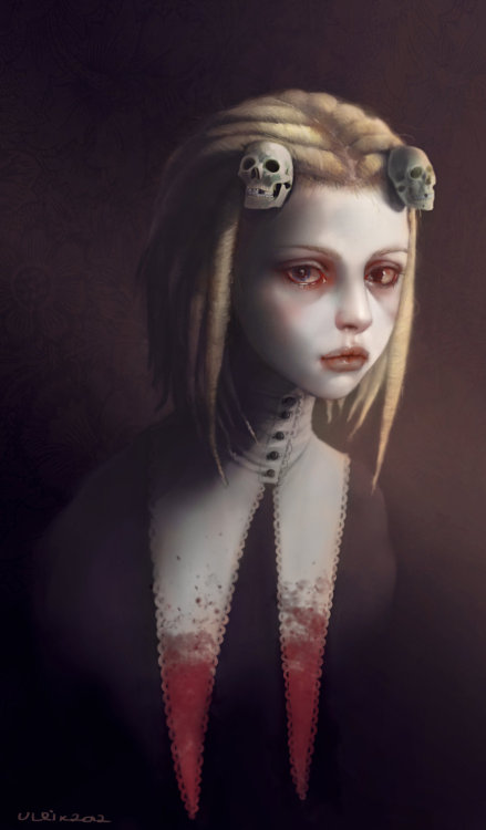 artmonia:  Lenore, The Cute Little Dead Girl by Ulrik