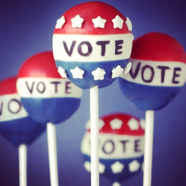 Happy Election Day! Make sure you get out there to #VOTE!