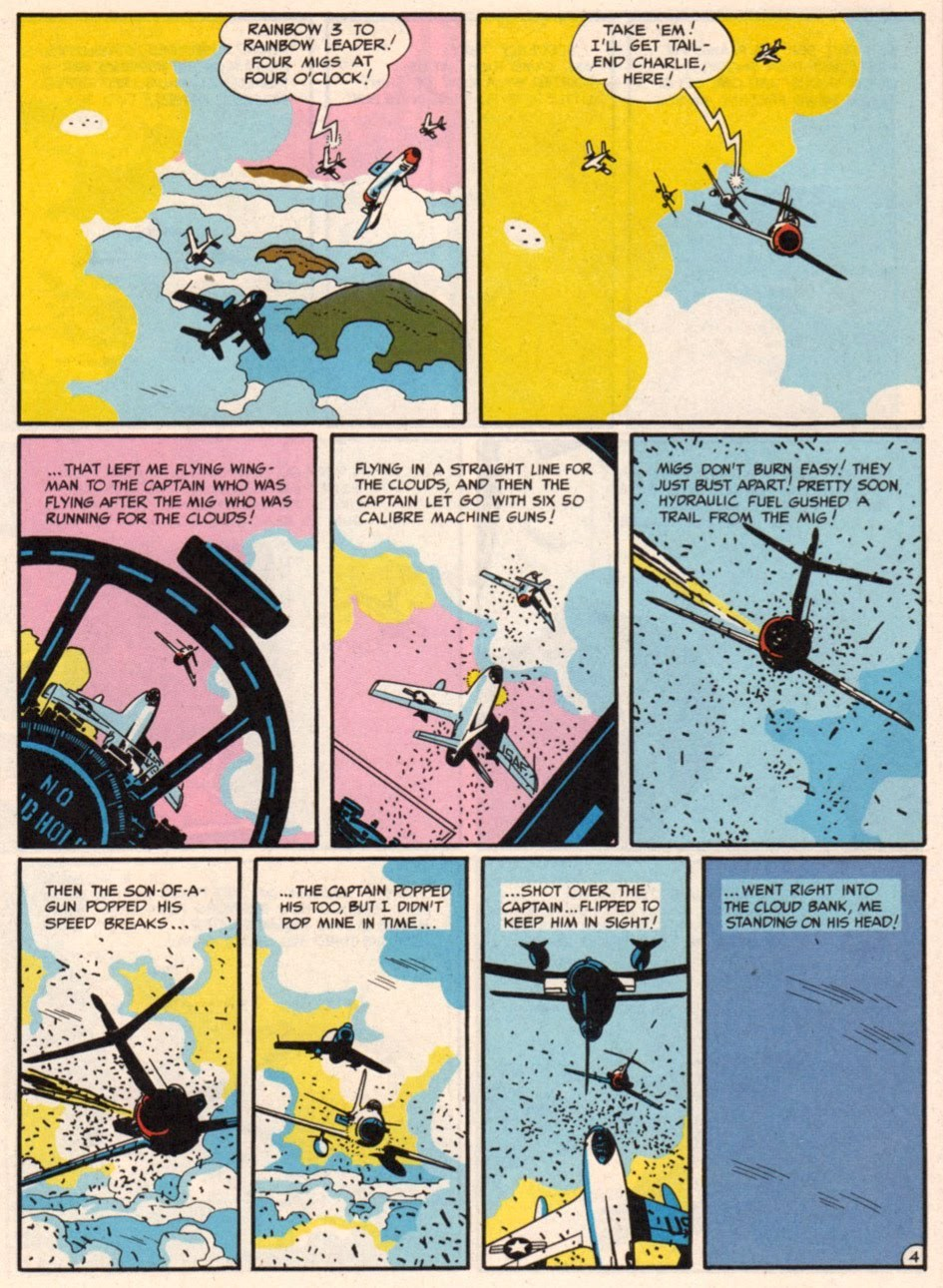 tothlove:  F86 Sabre Jet - Harvey Kurtzman and Alex Toth page 4