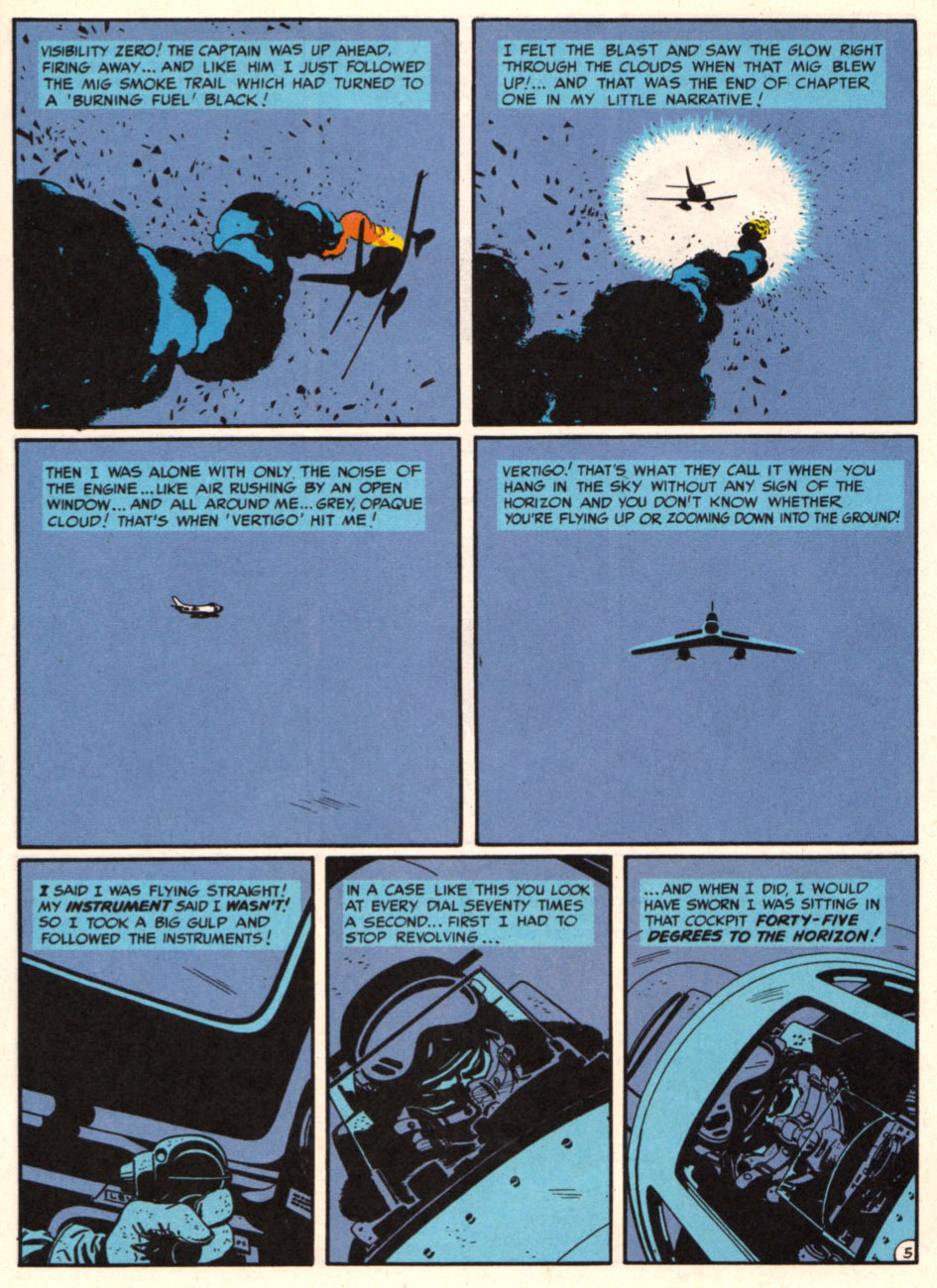 tothlove:  F86 Sabre Jet - Harvey Kurtzman and Alex Toth page 5