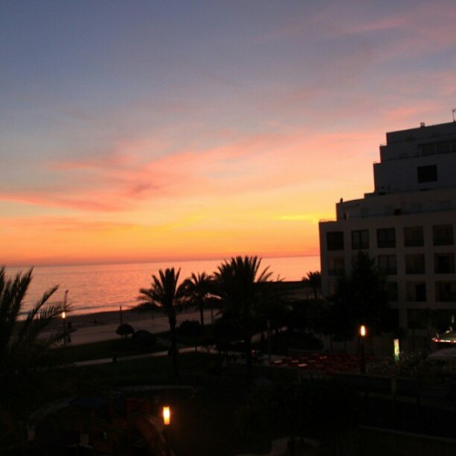 View from the hotel #portugal #summer #hotel #view #beach  #sunset