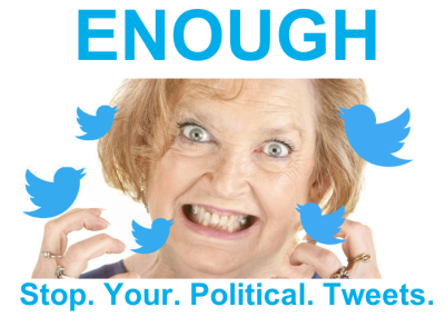 Your election day nagging is making people quit Twitter.