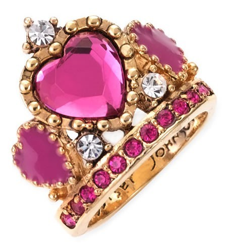 darlingdeers:  Betsy Johnson ring