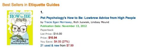 Currently #1 in Etiquette on Amazon!