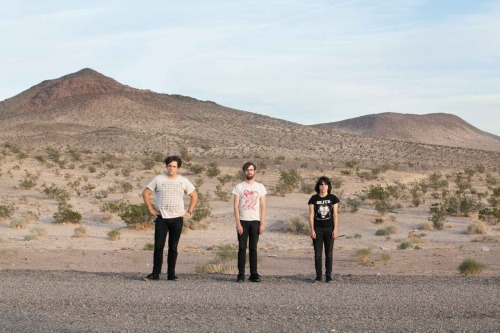 Screaming Females in the desert.  Somewhere between Los Angeles and Las Vegas