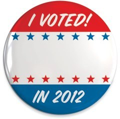 "2012swingstates:  Who did you vote for and why? Customize your own Election Day ""I Voted"" button here."