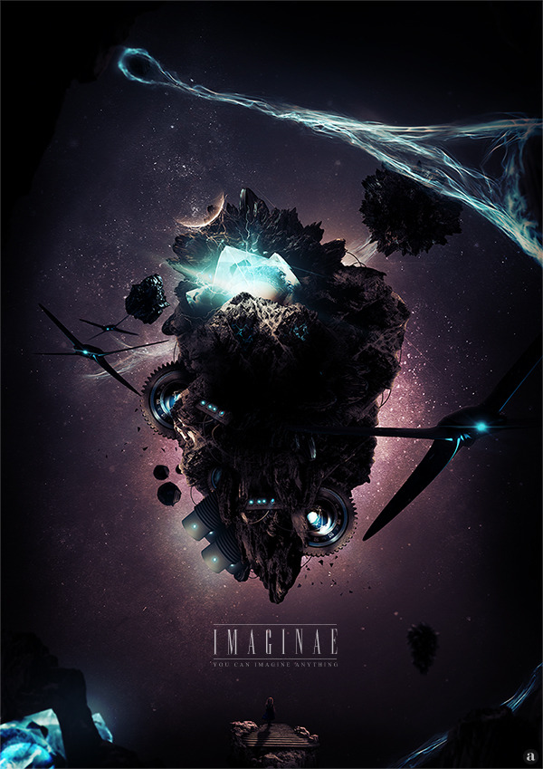 Digital art selected for the Daily Inspiration #1286