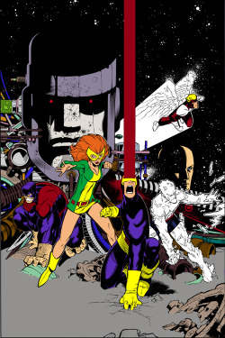 brianmichaelbendis:  Original X-men by Chris Bachalo