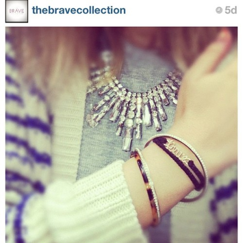 We love @thebravecollection's #everydaysparkle