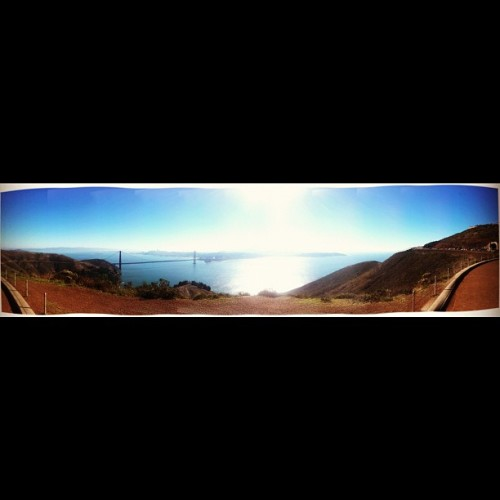 San Francisco is <3 (at Hawk Hill)