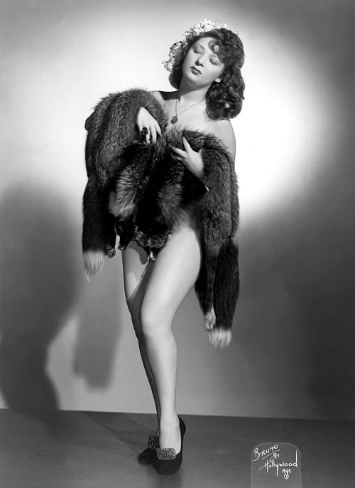 Crystal Ames Vintage promo photo dated from April of 1950..