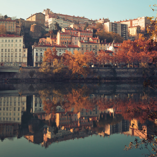 -cityoflove:  Lyon, France via Jeke's Photos