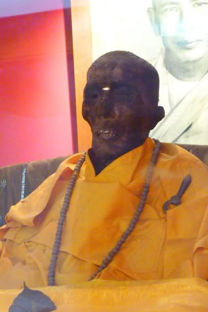 Bizarro Bangkok: The Naturally Mummified Monk of Chinatown