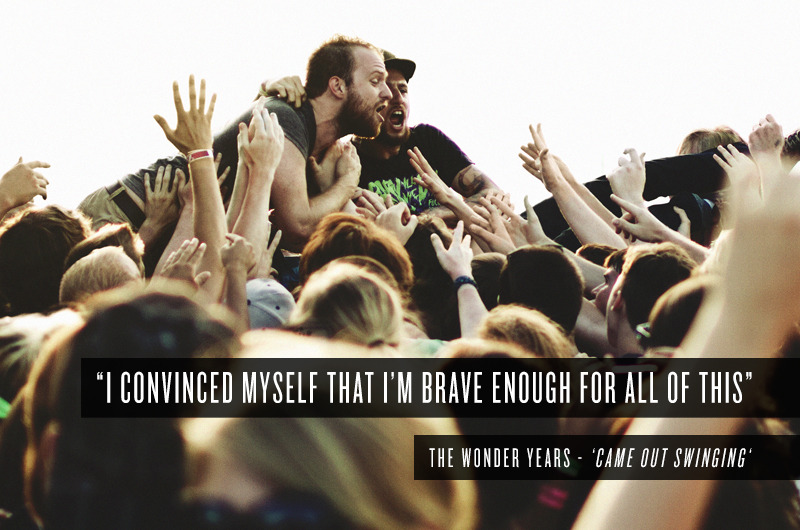 The Wonder Years - 'Came Out Swinging'  Follow for more…
