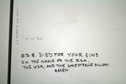 loopdiggaa:  ODB died for your sins by quinn.anya on Flickr.