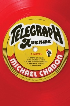 "Carmen Machado reviews Telegraph Avenue, the new novel from Michael Chabon:  A sculpture rests on the border between Berkeley and Oakland: the word ""HERE"" in eight-foot-tall steel letters on the Berkeley side, the word ""THERE"" on the Oakland side; it is a piece of public art that has drawn the ire of Oakland citizens and guerilla knitters alike. Had it been installed any earlier in the area's history, it no doubt would have appeared in Michael Chabon's Telegraph Avenue. The events of the novel, which take place over a several-months-long span in 2004, just before George W. Bush's reelection victory, spans the East Bay, from Oakland's Temescal neighborhood to the bougie Berkeley Hills. Like the title's thoroughfare, the sculpture would be the perfect emblem of one of the novel's tensions.  More here."