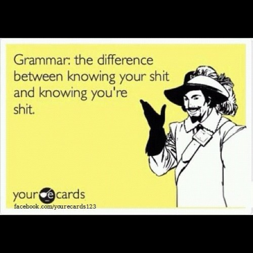 #lol #funny #ecards #joke #grammar #school #difference