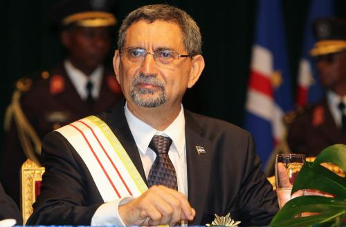 "CURRENT AFRICAN LEADERS: Jorge Carlos de Almeida Fonseca of Cape Verde Jorge Carlos de Almeida Fonseca is a Cape Verdean politician, lawyer, and university professor who has been President of Cape Verde since 2011. He served as Minister of Foreign Affairs from 1991 to 1993. Fonseca graduated from the University of Lisbon in Portugal with a masters in Legal Sciences. Fonseca was assistant professor and chairman of the board of the Institute for Law and Social Sciences in Cape Verde. He is also founder and Chairman of the Board of Directors of the ""Direito e Justiça"" Foundation, founder and director of the magazine ""Direito e Cidadania"", collaborator to the magazine ""Revista Portuguesa de Ciência Criminal"", and a member of the editorial board of ""Revista de Economia e Direito"" of the Universidade Autónoma de Lisboa. Fonseca has written several books and published over fifty scientific and technical works on law, and also two books of poetry. He has been awarded several times by the State of Cape Verde, is also holder of the status of Freedom Fighters of the Country."