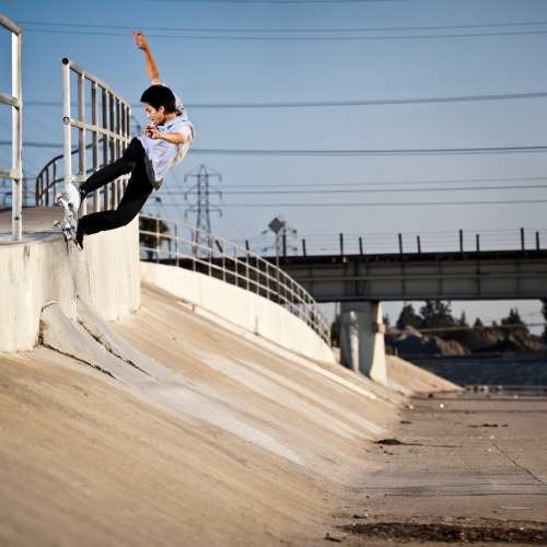 Steven Ban | Back 180 Five-0 to Fakie | Downey, CA