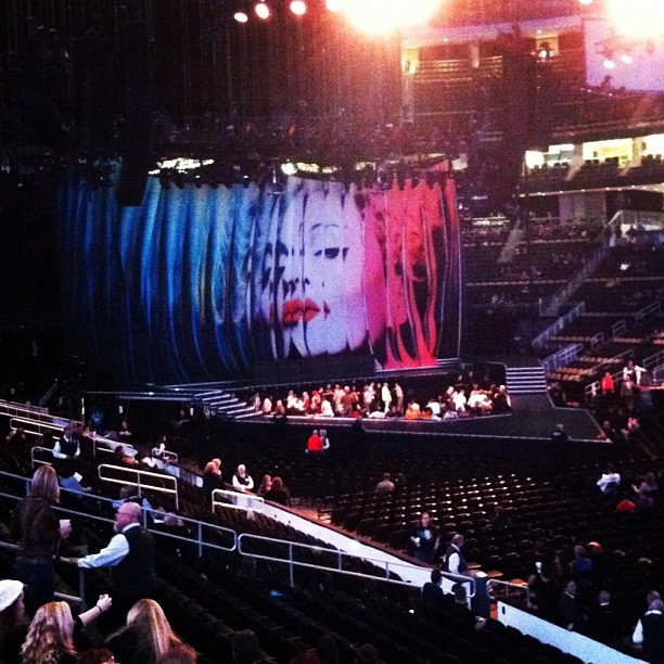 MDNA MOTHA! #madonna #mdnatour #mdna (at CONSOL Energy Center)
