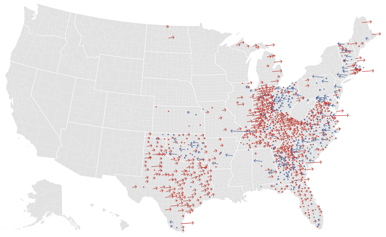 nytgraphics:  Shift from 2008. (Click small map on lower left.)