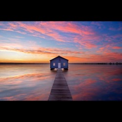 Matilda Bay Boat House #photography #kirkhille # Perth #sunrise