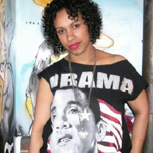 Me in #2008 I still support #obama I hope y'all voted!