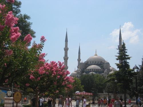 Mosques in Turkey Marmaris we Arrive in Turkey Marmaris