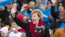 itsinthetrees:  Tammy Baldwin, Senator-Elect from Wisconsin. She will be the first openly gay senator in U.S. history.