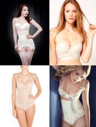 Bridal Lingerie for Every Age: 40s Guest post on Storyboard Weddings: Hello & Bridal Lingerie For Every Age {20′s, 30′s, 40′s, 50′s