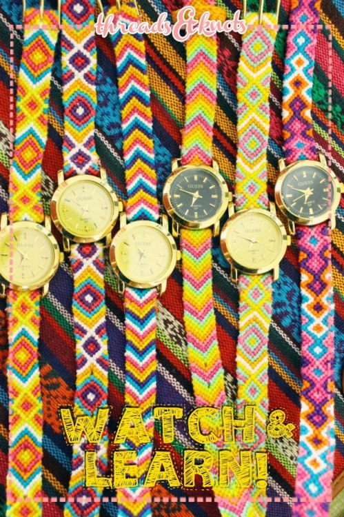 Grab this watch at http://facebook.com/threadsnknots