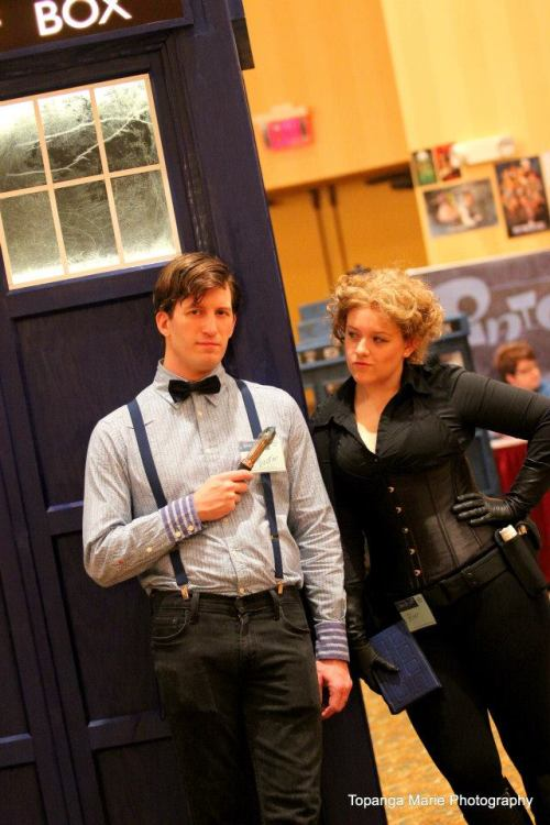 Me and my husband at Doctor Who convention Hurricane Who thanks to Topanga Marie Photograpy!
