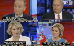 theatlantic:  The Sad Faces of Fox News on Election Night [Image: Fox News]