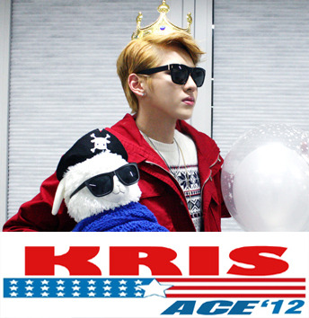 So I was bored…. KRIS | ACE 2012 all the way! ;P
