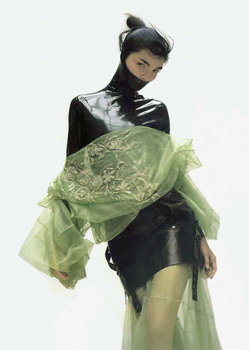 velvet-paws:  Magazine: POP Fall/Winter 2003Photographer: Craig McDeanModel: Mariacarla Boscono