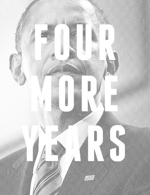 coloroftherainbows:  President Barack Obama Re-elected Focusing your life solely on making a buck shows a certain poverty of ambition. It asks too little of yourself. Because it's only when you hitch your wagon to something larger than yourself that you realize your true potential.