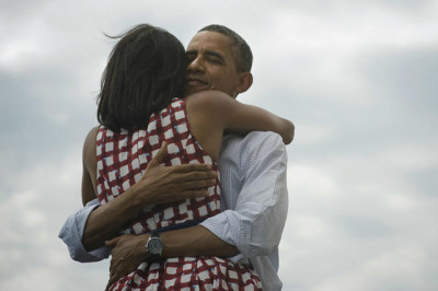 "thisistheverge:  Obama's 'Four more years' victory tweet already the most retweeted of all time Barack Obama has been re-elected as President of the United States, and he's taken another prize as well — he can now lay claim to the most popular tweet of all time. The tweet, which simply states ""Four more years"" alongside a photo of Obama embracing his wife Michelle, has been retweeted over 320,000 times and counting."