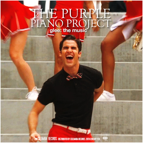 Glee: The Music, The Purple Piano Project Requested Alternative Album Cover