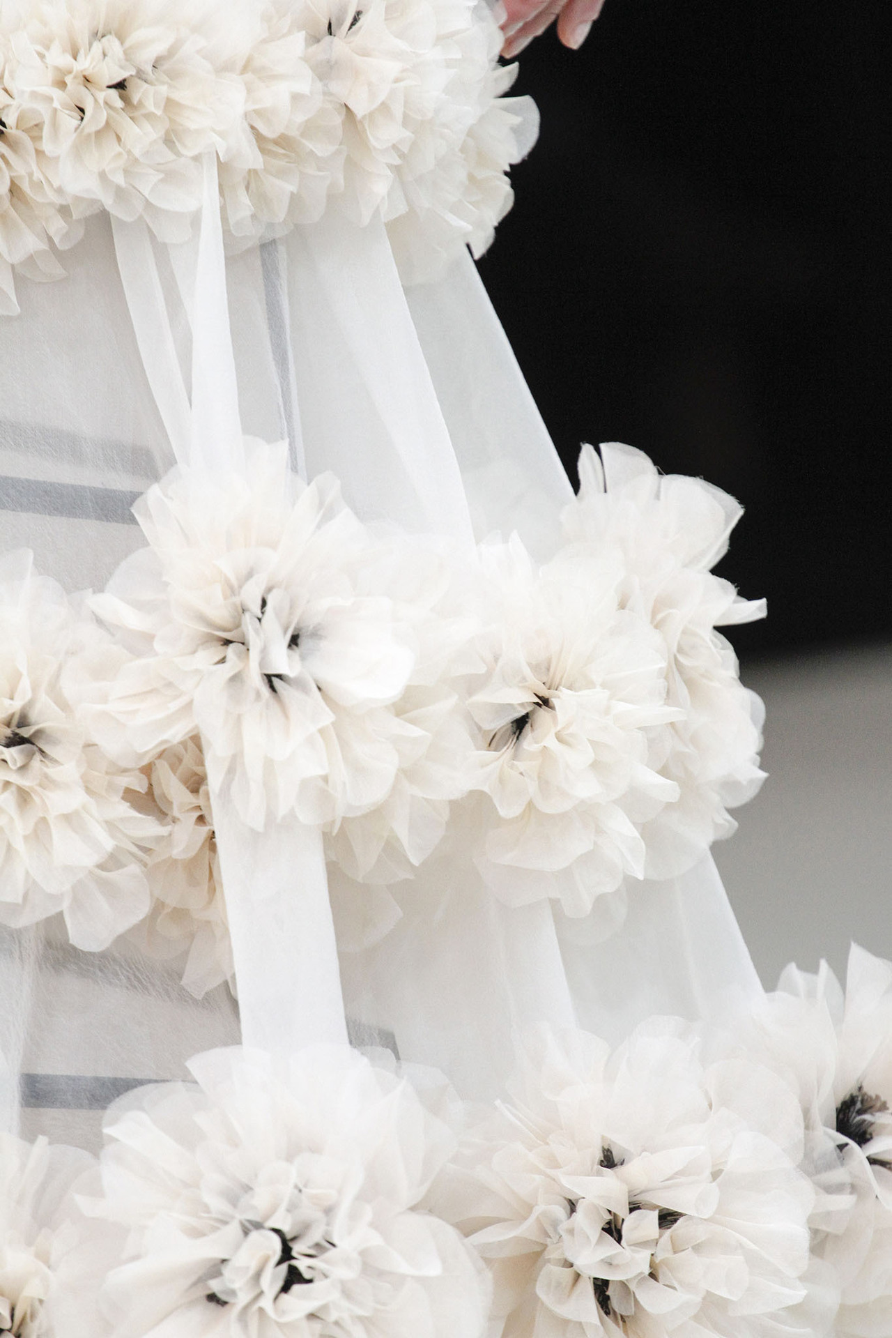 Detail at Alexander McQueen Spring Summer 2013 | PFW