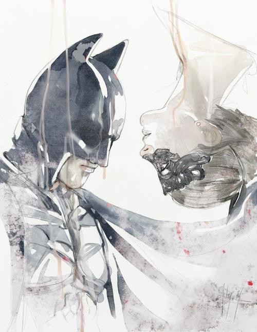 the dark knight rises - batman and catwoman from torrey anderson