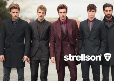 Chris Brown, Conrad Leadley, Jesse Shannon and Pete Bolton for Strellson FW12