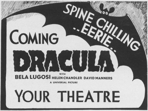 Dracula, 1931 Greenbriar Picture Shows
