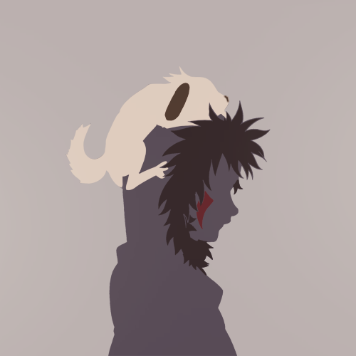 Silhouette Meme → Kiba (requested by 50personalitys)