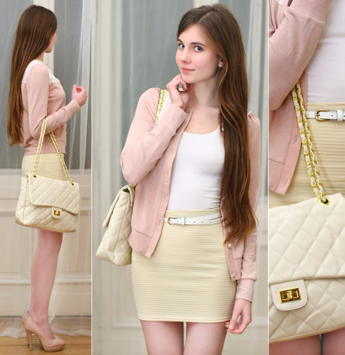 lookbookdotnu:  Cute pastels (by Ariadna Majewska)