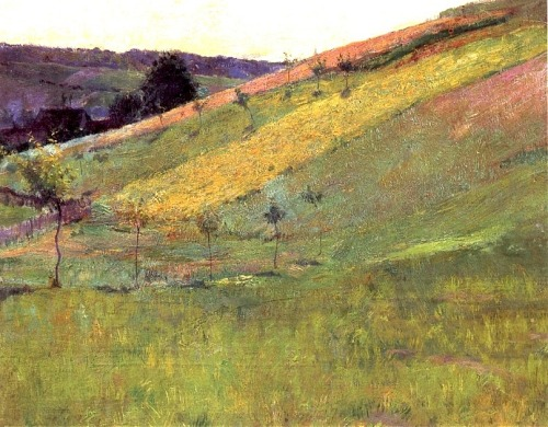 bofransson:  Guy Orlando Rose - Giverny Hillside