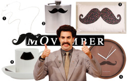 Styloko Blog: Movember Merch for your Moustache Obsession