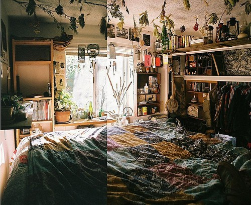 ponderin-g:  bohemianhomes:  Bohemian Homes: Bedroom  \