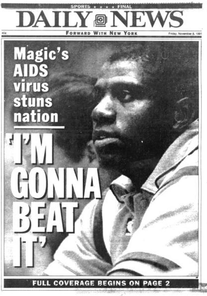 BACK IN THE DAY |11/7/91| Magic Johnson announces his retirement from the Los Angeles Lakers, after testing positive for HIV.