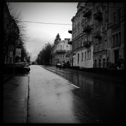 Roaming through Vilnius.